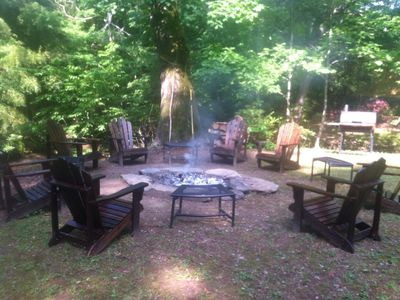 Photo for BRH -1.5 Acre Private Riverfront 3 Bdrm 2Bth House - FP, Outdoor Fire Ring & W/D