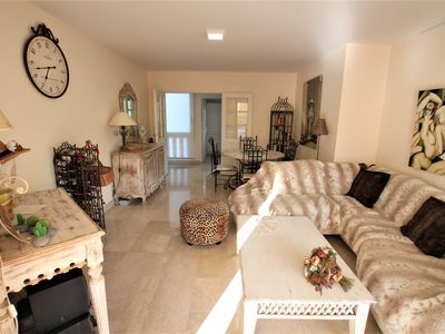 Photo for Apartment 2 bedrooms/2 bathrooms/terrace equipped in Palm beach area