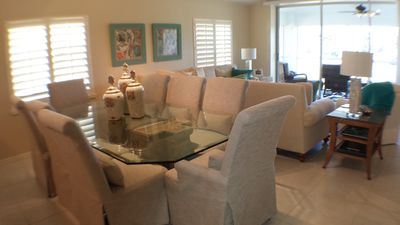 Photo for Beautiful 3 BR 3BA condo on Flamingo Golf Course in Lely Resort Naples, FLA