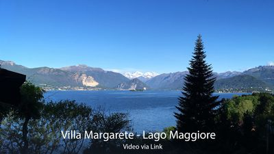Photo for Family home at Lago Maggiore with beautiful view and private beach