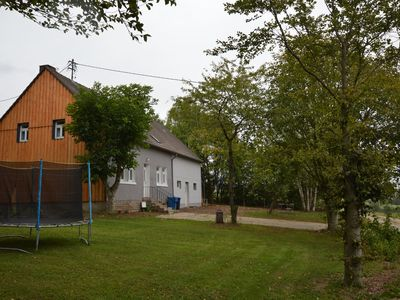 Photo for Comfortable detached house with large garden and gorgeous view of the forest