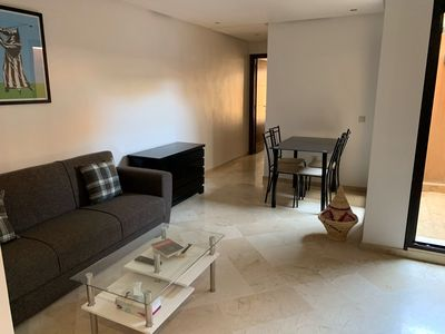 Photo for Modern apartment with terrace, Hivernage district