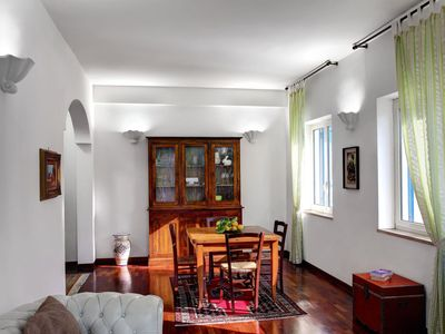 Photo for Urban Alpha apartment in Sorrento with air conditioning, private parking & balcony.