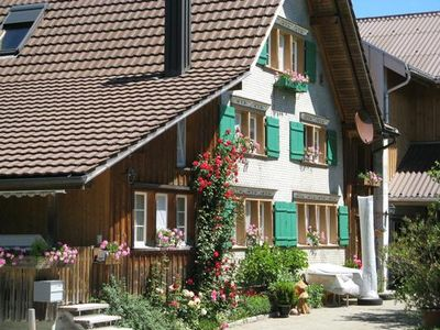 Photo for Holiday apartment Lütisburg for 2 - 9 persons with 3 bedrooms - Farmhouse