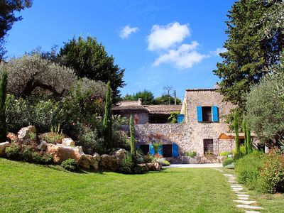 Photo for Moulin de Boursac, historic bed and breakfast in Vence