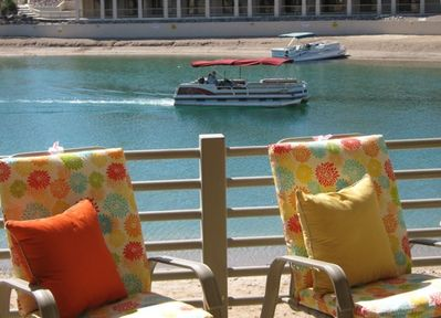 Enjoy daily beach front parking for your boat