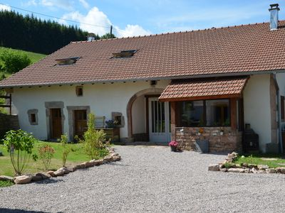 Photo for 4 * renovated farmhouse for groups and families in the middle of nature