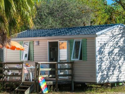 Photo for Camping Le Mas *** - Mobil Home Classic Plus 3 Rooms 6 People