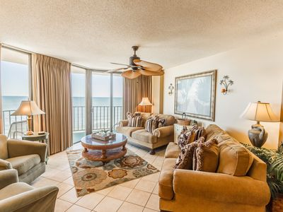 Photo for Beautiful Ocean Front End Unit at The Summit  *Wifi* Pool* 55'' TV*NetFlix*