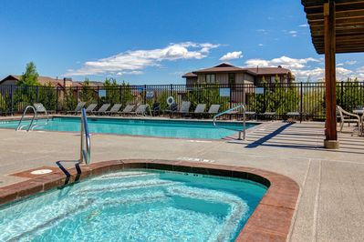 Amenities - As part of Bear Hollow Village, enjoy an array of amenities, including a clubhouse pool and spa.
