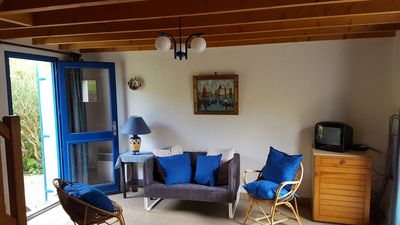 Photo for Blue House - South Finistère - 4 people close to the beach and the port