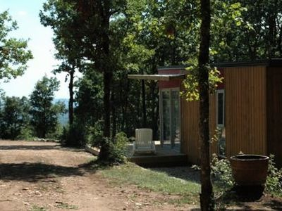 Photo for Camping La Truffière *** - Chalet Panoramic 3 Rooms 4 People