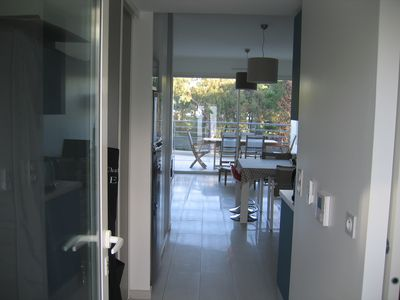 Photo for Comfortable apartment 100 meters from the beach in a secured new residence