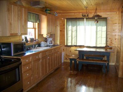 Wonderful - fully equipped kitchen.