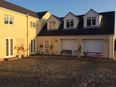 Photo for Garage conversion next to main house, 2 acre garden/ surrounded by trees/fields.