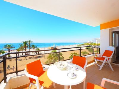 """Photo for Apartment right near the """"Platja del Rastell"""" in Roses with Parking, Terrace (329435)"""