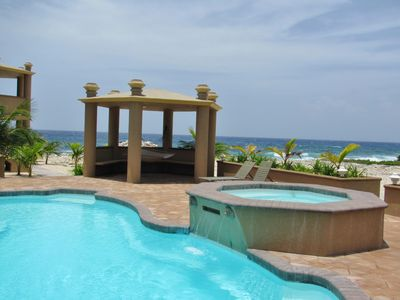 Photo for Ocean Views from Every Room; Luxury Condo with Oceanside Pool & Hammocks