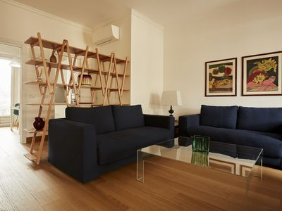 Photo for Luxurious 2bdr with large terrace, Sant'Ambrogio area