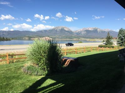 Photo for Spectacular Views Of Lake Dillon  2b/2b Condo