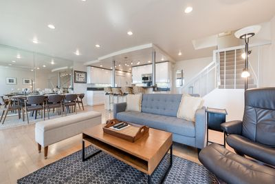 Socialize with your family and friends with their own sense of space.