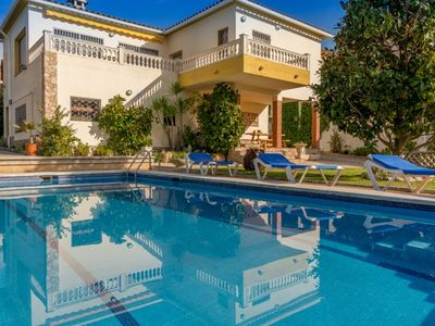 Photo for Club Villamar - Family friendly 3-bedroom villa with private pool, beautiful garden and located c...