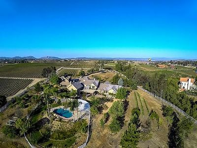 Photo for LARGE TEMECULA WINE COUNTRY ESTATE! SET IN MIDDLE OF VINEYARDS!