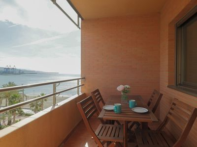 Photo for Seafront Malaga Central Apartment (C68)