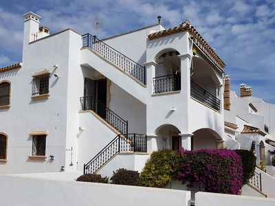 Photo for Lovely 2 bedroom top floor apartment Villamartin