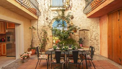 Photo for Village house with patio in the heart of Old Antibes