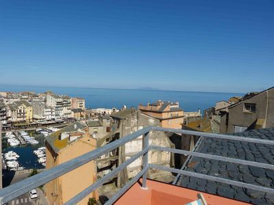 Photo for Overlooking the old port of Bastia