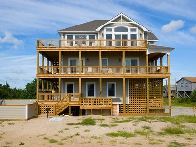 Photo for Ultimate Family Fun! Oceanview-Pool, Hot Tub, GameRm, DogFriendly, Walk to Beach