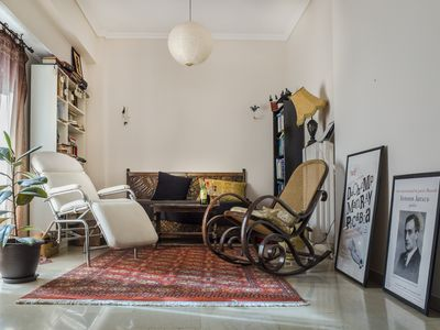 Photo for Spacious, sunny flat in the heart of Athens!