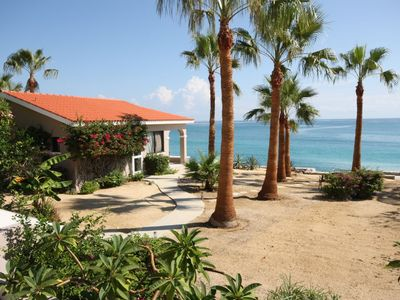 Photo for Casita Tortuga is a Beach Front over looking the Sea of Cortes.