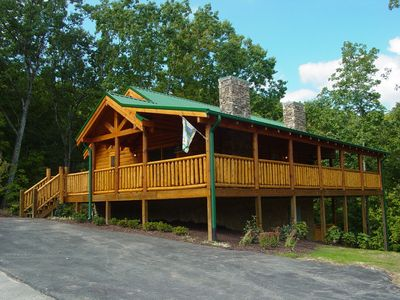 Photo for ERN826 - COZY CABIN - GREAT LOCATION!  CLOSE TO ALL THE ACTION!