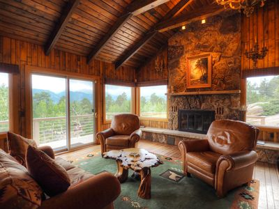 Photo for Masterpiece in the Rockies - Stunning Estate with Gorgeous Mountain Views! -- EV #3237