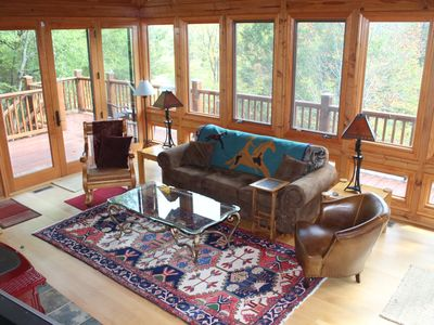 Photo for TWO FOR ONE! River access.  Apartment/Main House, 9 beds/6 sleeping areas/3.5 ba