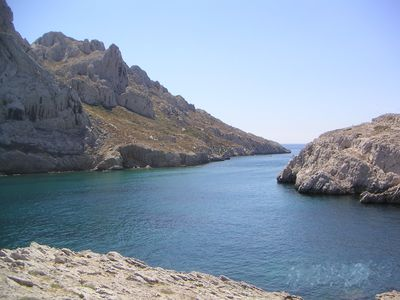 Photo for LARGE CABANON WITH TERRACE IN THE PARK OF CALANQUES