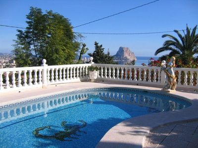 Photo for Villa with private pool and sea views46c