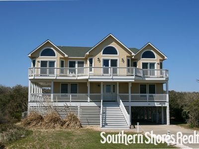 Photo for Southbound - Semi-Oceanfront - 6 BR with Private Pool - Southern Shores Realty