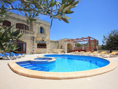 Photo for Holiday house Xaghra for 2 - 11 persons with 5 bedrooms - Holiday house