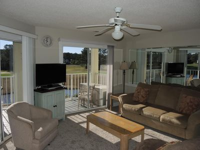 Photo for Get Ready to Relax!  One Bedroom Condo with balcony and great view of the course!  (204M)