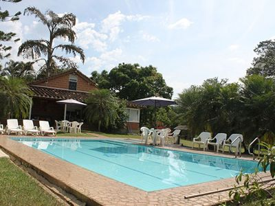 Photo for Country estate with a pool, a view of the mountains, and green areas