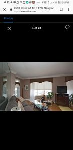 Photo for Property its a Condo.  master bedroom have a jacuzzi .  One street to the beach