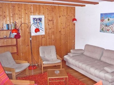 Photo for Apartment in Les Diablerets with Parking, Washing machine, Pool, Balcony (40793)