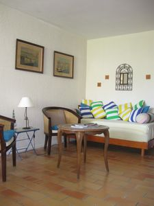 Photo for 4 Room Apartment + Terrace - 6 Sleeps - Residence with Pool and Tennis