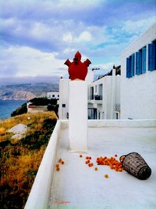 Photo for Holiday Apartment on Beach in Skyros Island, Greece