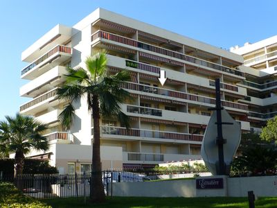 Photo for APPT T2 GOLFE JUAN THE ESTIVALIERE 3 * of TOURISM terrace 15 m2 privatory parking