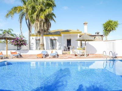 Photo for Charming Home Casa Villanueva 3 with Pool, Terrace, Garden,  Air Conditioning & Wi-Fi; Parking Available