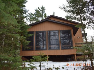 Photo for Otter Bay Cabin...A Beautifully Furnished Lakefront All Season Cabin!