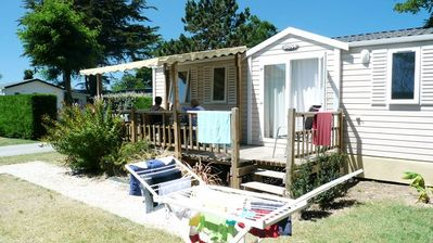 Photo for Camping Les Dunes ***** - Mobile Home 3 Rooms 6 People